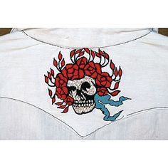 Jayli Imports, Inc. Store - Men's Cotton Short Sleeve Shirt with Skull and Roses Embroide, $48.00 (http://www.jayli.com/mens-cotton-short-sleeve-shirt-with-skull-and-roses-embroide/)