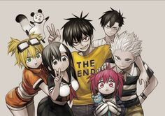 "Crunchyroll - Author Says Goodbye To ""Blood Lad"" Manga"