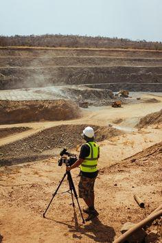 Jasyn Filming Teranga Gold Mine Pit