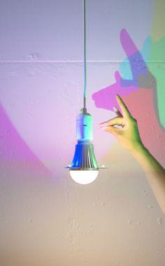CMYK bulb | Dennis Parren