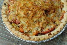 Salad pie?  Can't wait for summer and the Farmer's Market!