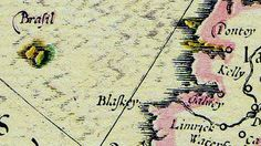 In 1623, Brazil was a small island in the North Atlantic, not too far off Ireland's west coast.