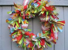 this would be a fun one to create with left over material scraps
