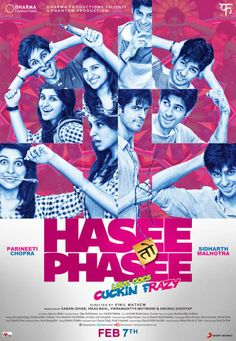 Second poster from Hasee Toh Phasee