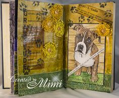 using 'Boxer' by Beary Dust available from Sweet Pea Stamps