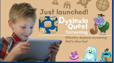 Dyslexia Quest is an effective and fun screening tool by Nessy