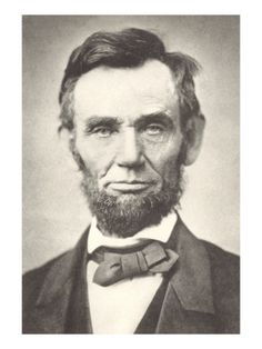 Early Photograph of Abraham Lincoln Giclee Print