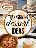 Great Thanksgiving dessert recipes