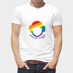 """Camiseta Leia Gay (17,95€)  Camiseta blanca 100% algodón con diseño exclusivo de Leia incluida en la Colección """"Star Wars Gay"""" """"Preferiría besar a un wookiee"""""""