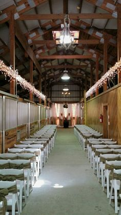 Custom stable ceremony design - each of our ceremonies are custom designed just for you.