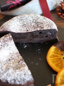 濃厚半生ガトーショコラ Homemade Chocolate, Bread Recipes, Tea Time, Food And Drink, Pudding, Sweets, Cooking, Cake, Desserts