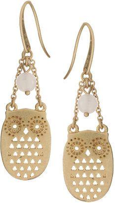 Hobbs Owl Earrings Pinned by www.myowlbarn.com