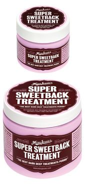 Super Sweetback Treatment  Want long curly hair? Miss Jessie's Super Sweetback treatment is an essential curly hair care treatment for growing out naturally curly, kinky, and wavy hair. Healthy growth and length is what most curlies covet. Miss Jessie's can assist you in this process. An elongated curl has more bounce, is more manageable, and is less prone to frizz.