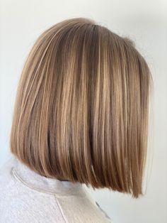 Bun Hairstyles For Long Hair, Summer Hairstyles, Bob Hairstyles, Bob Haircuts, One Length Haircuts, One Length Bobs, Chin Length Bob, Bobs For Thin Hair, Best Hair Salon