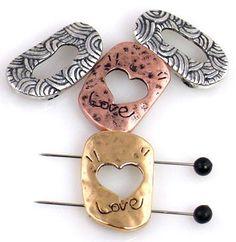 4 inspirational 2 hole style slider bead 9272