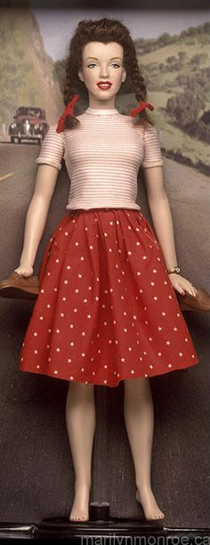 Norma Jean, Marilyn Monroe Custom Dolls by Kim Goodwin