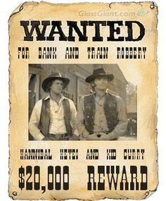 Alias Smith and Jones '....that's right,until then only you,me and the governor will know about it,it will be our secret..'