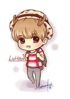 루한 Luhan fanart