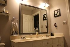 framed mirrors - Google Search