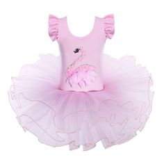 B029_SwanPink_1 Ballet Tutu, Girls Ballet Leotard, Dance Leotards, Gymnastics Leotards, Ballet Dance, Toddler Dance, Cosplay Dress, Baby Car Seats, Fancy