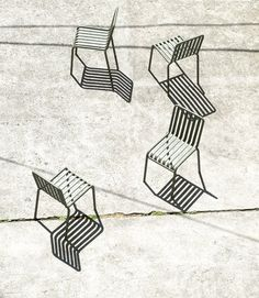 HAY - Palissade Chair - anthrazit - Ronan & Erwan Bouroullec - Design - Gartenstuhl: Ronan & Erwan Bouroullec: Amazon.de: Küche & Haushalt