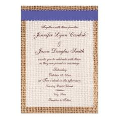 ENTRY TABLE- similar to my  framed wedding invitation. Use burlap frame with gold.