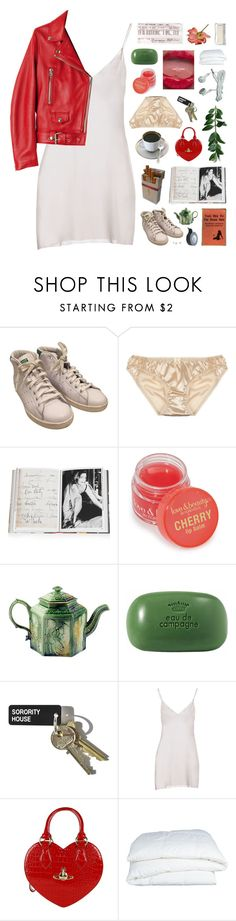 """""""not gonna lie i'm pretty uncomfortable like all the time."""" by annamari-a ❤ liked on Polyvore featuring adidas, Mimi Holliday by Damaris, Assouline Publishing, Forever 21, Wedgwood, Sisley, Missoni, Vivienne Westwood and Crate and Barrel"""