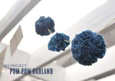 DIY: Pom Pom Garland