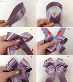Cách thắt nơ ruy-băng cho hộp quà xinh xắn 9