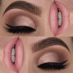 23 stunning prom makeup ideas to show off your beauty .- 23 atemberaubende Prom Make-up-Ideen, um Ihre Schönheit zu verbessern – pinbeauty 23 stunning prom makeup ideas to enhance your beauty - Glamorous Makeup, Glam Makeup, Bridal Makeup, Beauty Makeup, Pink Makeup, Pink Wedding Makeup, Makeup Light, Subtle Eye Makeup, Elegant Makeup