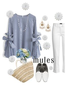 """""""Mules"""" by makeuplady on Polyvore featuring Chicwish, Joseph, Diane James, Pierre Hardy and Chanel"""