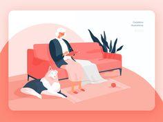 """Granny"" Illustration with@Lunamik"