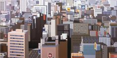 Brian Alfred is an artist based in Brooklyn. Parallelly to his career as a musician he has created paintings, collages and animations, consisting mostly in images of architecture and landscape. Buildings, factories, housing and common places are his main subjects, rendered with a flattened...