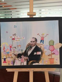 Special Day, Kids, Painting, Young Children, Boys, Painting Art, Paintings, Children, Painted Canvas