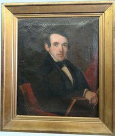 AMERICAN SCHOOL PORTRAIT OF SCHOLAR C.1825 : Lot 270