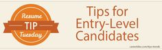 #Resume Tip: Don't make entry level mistakes at any point during your #career #kforce