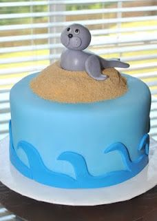 Seal Cake