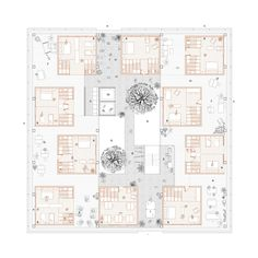 Interesting Find A Career In Architecture Ideas. Admirable Find A Career In Architecture Ideas. Architecture Drawing Plan, Architecture Design, Architecture Visualization, Architecture Graphics, Co Housing, Social Housing, Student House, Plan Drawing, Unit Plan