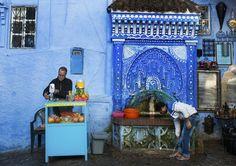 Marokko blått til lyst   VG Reise