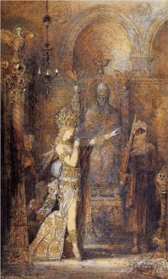 """Salome Dancing"" by Gustave Moreau (c. 1886)"