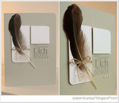paper-la-papp - Stampin up! Feder-Feather
