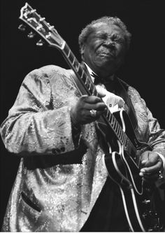B B King. Man, this guy can play!