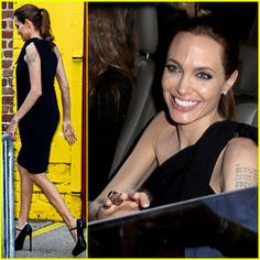 #Angelina Jolie Supports Brad Pitt at the Make It Right Gala! --- More News at : http://RepinCeleb.com  #celebnews #repinceleb #AngelinaJolie, #Gossip