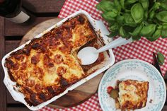 Verantwoorde lasagne | Lasagne met bechamelsaus van griekse yoghurt en veel groenten | Gezonde lasagne | Taste Our Joy!