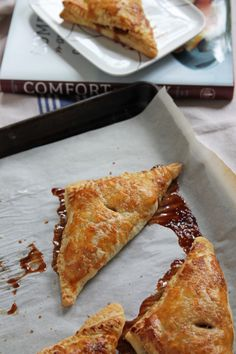 Apples and cinnamon tucked into puff pastry make the perfect apple turnovers, perfectly portioned just for two! Turnovers are really just a clever way to get away with eating pie for breakfast.