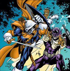 taskmaster vs prometheus//Carlos Pacheco/P/ Comic Art Community GALLERY OF COMIC ART