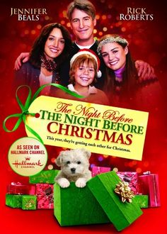 Yes, it is Jennifer Beals of Flashdance fame in a Christmas movie.