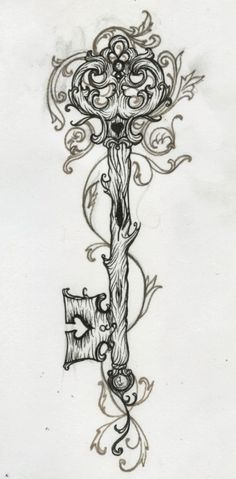 The idea of the key being made of wood to go with my owl intrigues me.