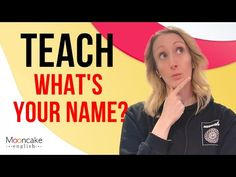 esl first day activities beginners - YouTube Esl First Day Activities, English Resources, What Is Your Name, One Day, Teaching, Warm, Youtube, Education, Youtubers