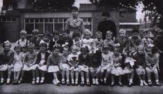 Junior classes of the Polish Saturday School in Manchester run by Ex-Combatants Branch no. Great Britain, Manchester, England, Polish, School, Vitreous Enamel, Manicure, Nail Polish, United Kingdom